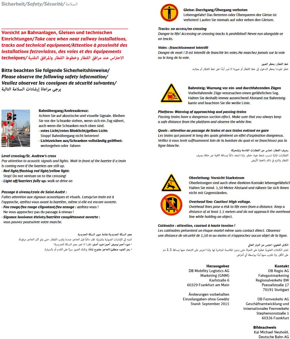 Gefahren Bahn 1